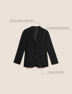 Boys' Slim Fit School Blazer (9-16 Yrs)