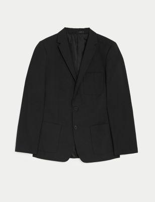 Boys' Slim Fit School Blazer (9-18 Yrs)