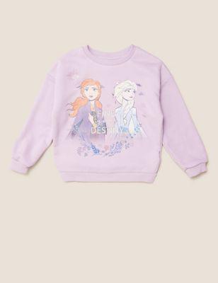 Cotton Disney Frozen™ Sweatshirt (2-10 Yrs)