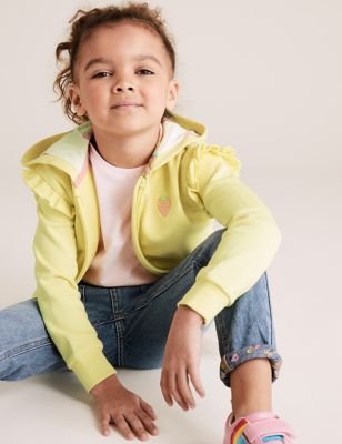 Cotton Patterned Hoodie (2-7 Yrs)
