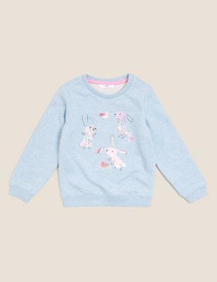 Cotton Animal Sweatshirt (2-7 Yrs)