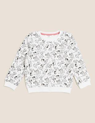 Cotton Disney 101 Dalmatians™ Sweatshirt (2-7 Yrs)