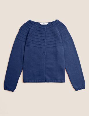 Pure Cotton Cardigan (2-7 Yrs)