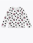 Cotton Minnie Mouse™ Top (2-7 Yrs)