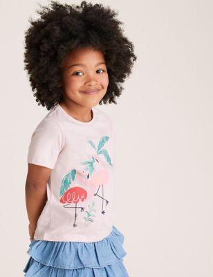 3pk Cotton Animal T-Shirts (2-7 Yrs)