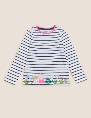 Pure Cotton Peppa Pig™ Top (2-7 Yrs)