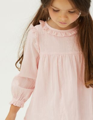 Cotton Patterned Top (2-7 Yrs)
