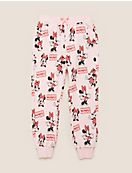 Cotton Disney Minnie Mouse™ Print Joggers (2-7 Yrs)