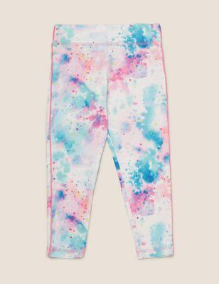 Tie Dye Print Leggings (2-7 Yrs)