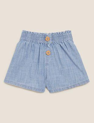Pure Cotton Shorts (2-7 Yrs)