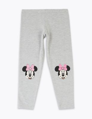 Cotton Rich Disney Minnie Mouse™ Leggings (2-7 Yrs)