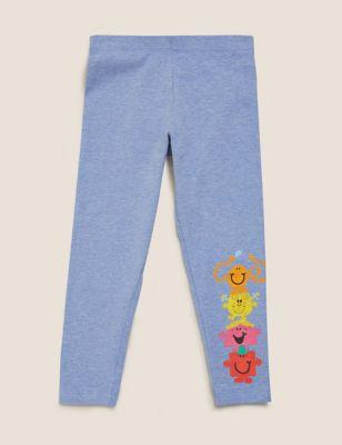 Cotton Mr Men™ & Little Miss™ Leggings (2-7 Yrs)