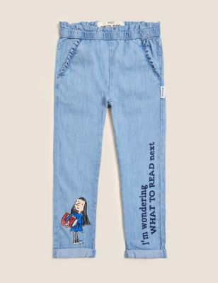 Roald Dahl™ Relaxed Fit Jeans (2-7 Yrs)