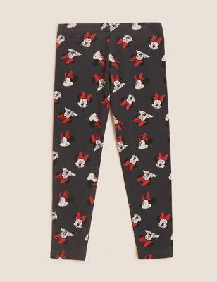 Cotton Minnie Mouse™ Leggings (2-7 Yrs)