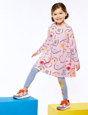 Pure Cotton Mr Men™ Little Miss™ Dress (2-7 Yrs)