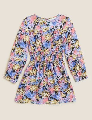 Floral Dress (4-7 Yrs)