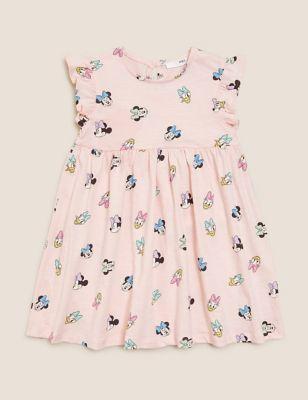 Pure Cotton Minnie™ Dress (2-7 Yrs)