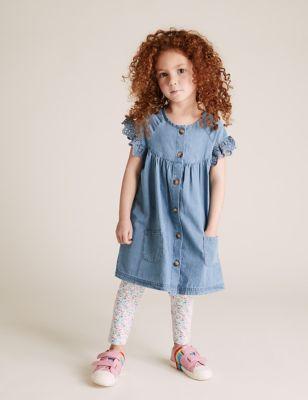 Denim Dress (2-7 Yrs)