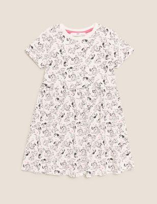 Pure Cotton 101 Dalmatians™ Dress (2-7 Yrs)