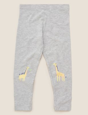 Cotton Giraffe Leggings (2-7 Yrs)