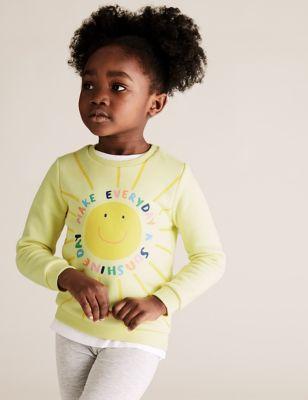 Cotton Sunshine Sweatshirt (2-7 Yrs)