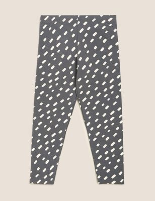 Cotton Patterned Leggings (2-7 Yrs)