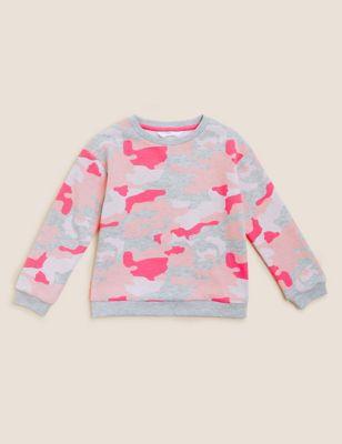 Cotton Camouflage Sweatshirt (2-7 Yrs)