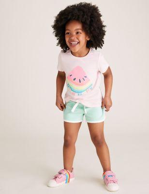 Cotton Shorts (2-7 Yrs)