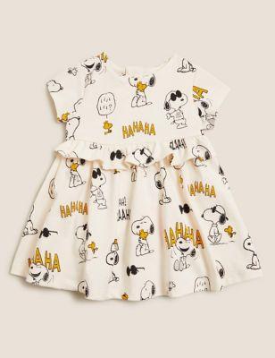 Pure Cotton Snoopy™ Dress (7lbs - 3 Yrs)