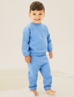 2pc Cotton Sweater Outfit (0-3 Yrs)
