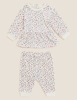 2pc Leopard Outfit (0-3 Yrs)