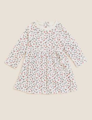 Animal Print Dress (0-3 Yrs)