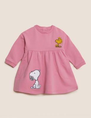 Cotton Snoopy™ Dress (0-3 Yrs)