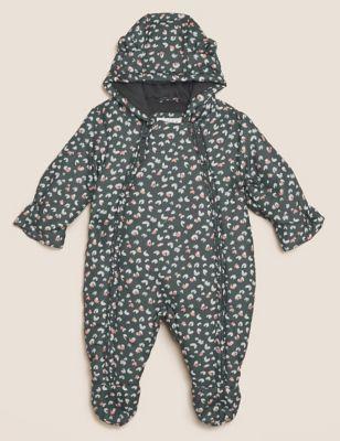Leopard Snowsuit (0-3 Yrs)