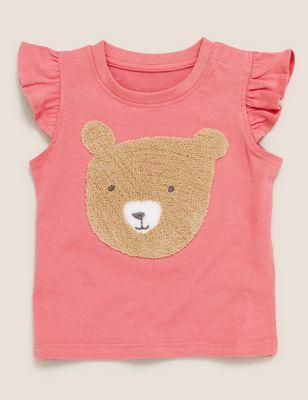 Pure Cotton Bear T-Shirt (0-3 Yrs)
