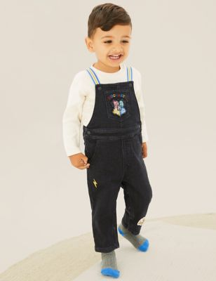 Harry Potter™ 2pc Dungaree Outfit (0-3 Yrs)
