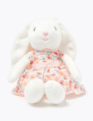Bunny in a Dress Soft Toy