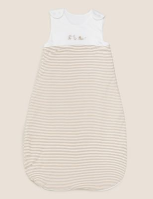 Cotton Striped 1.5 Tog Sleeping Bag (0-36 Mths)