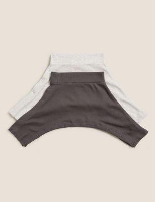 2pk Hip Dysplasia Cotton Joggers (0lbs-12 Mths)