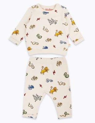 2pc Harry Potter™ Cotton Outfit (7lbs-3 Yrs)