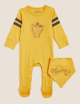 Harry Potter™ 2pc Pure Cotton Sleepsuits (0-3 Yrs)
