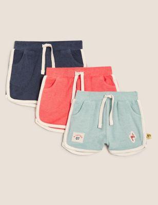 3pk Harry Potter™ Cotton Shorts (7lbs-12 Mths)