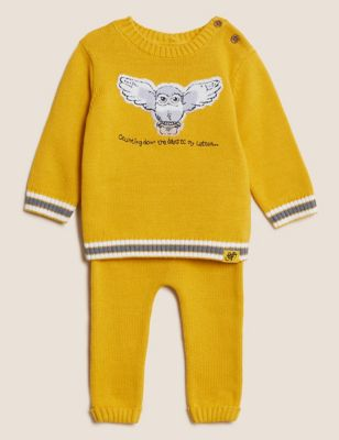2pc Harry Potter™ Pure Cotton Outfit (0-3 Yrs)