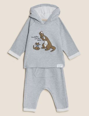 2pc Winnie the Pooh™ Cotton Outfit (0-3 Yrs)