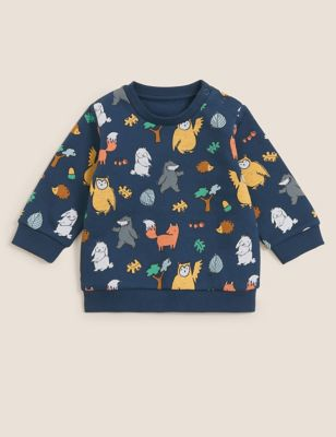 Cotton Woodland Sweater (0-3 Yrs)