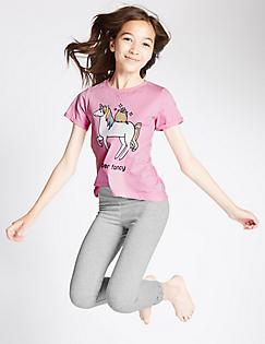T86/2497C: Pusheen™ Unicorn Pyjamas (9-16 Years)