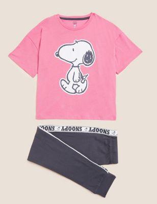 Snoopy™ Pure Cotton Pyjamas (2-16 Yrs)