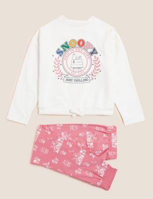 Snoopy™ Lounge Cotton Pyjama Set (2-16 Yrs)