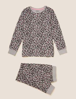 Cotton Leopard Pyjama Set (7-16 Yrs)