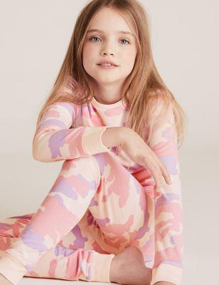 Cotton Camouflage Pyjama Set (7-16 Yrs)